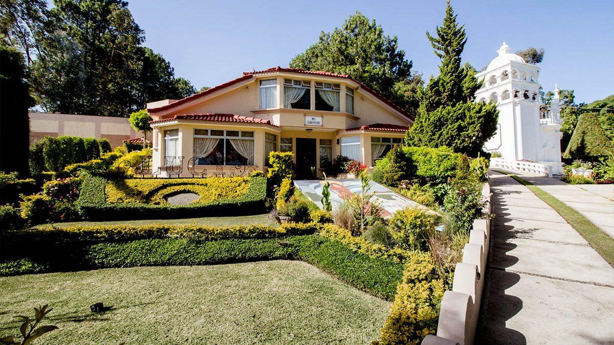 Jardines para eventos en guatemala